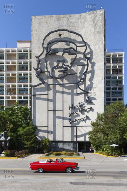 April 24, 2017: Square of the Revolution, Havana, Cuba, West Indies, Caribbean, Central America