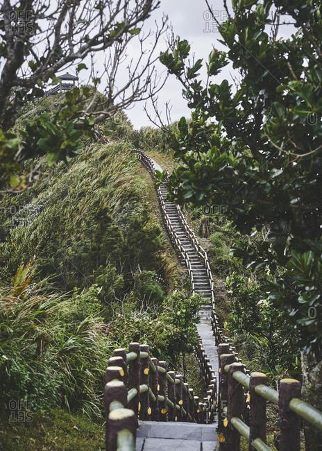 Little Big wall on Green Island, Taiwan