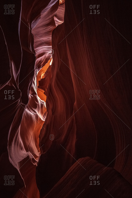 USA- Arizona- Page- Antelope Canyons- Upper Antelope Canyon