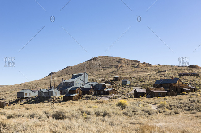 USA- California- Sierra Nevada- Bodie State Historic Park- gold mining town