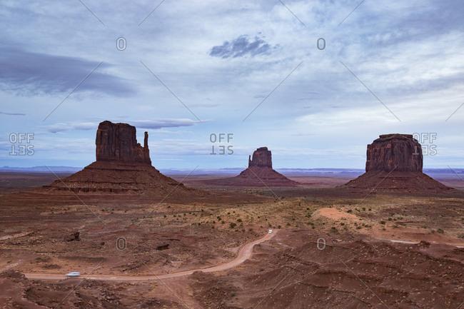 USA- Arizona- Navajo Nation- Monument Valley