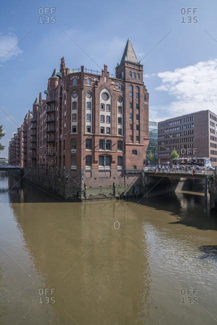 September 1, 2016: Germany- Hamburg- Old Warehouse District