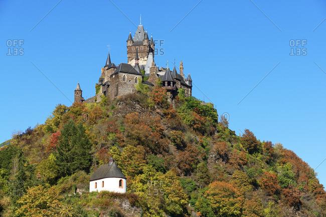 Reichsburg Cochem, Mosel valley, Rhineland-Palatinate, Germany