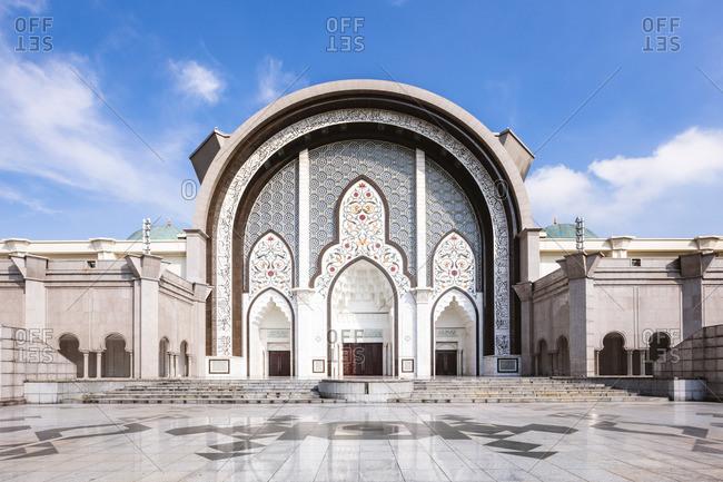Federal Territory Mosque (Malay: Masjid Wilayah Persekutuan), Kuala Lumpur, Malaysia