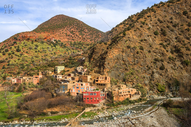 Ourika valley, Province Al Haouz, High Atlas, Morocco