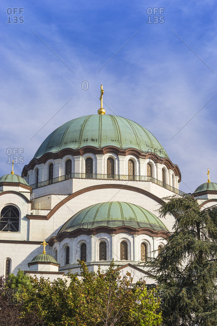 Serbia, Belgrade, St Sava Temple - The largest orthodox cathedral in the world