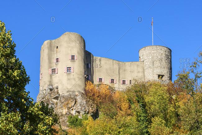 Castle Alt-Falkenstein, Balsthal, Solothurn, Switzerland