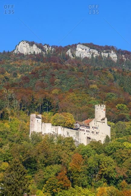 Castle Neu-Bechburg, Oensingen, Solothurn, Switzerland