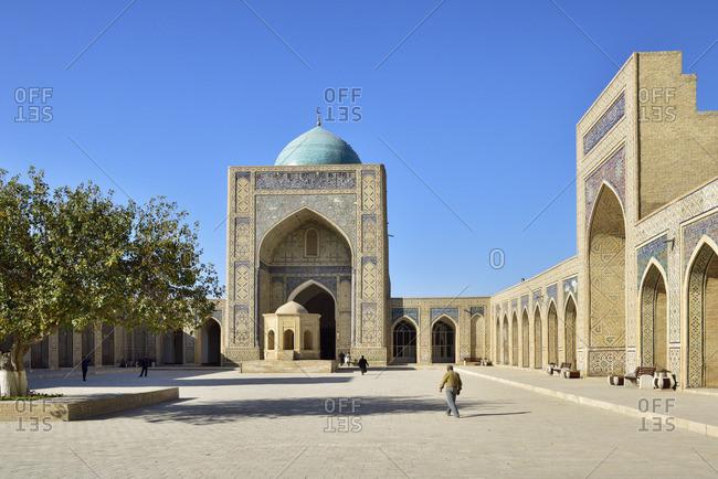 Kalon mosque. Bukhara, a UNESCO World Heritage Site. Uzbekistan