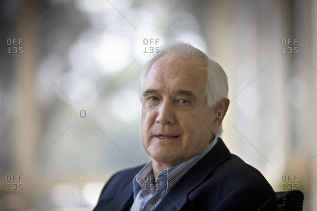 portrait of elderly man