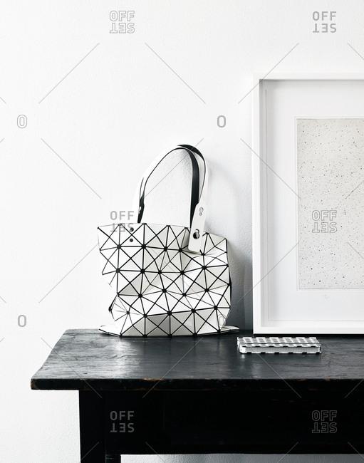 October 5, 2017: Issey Miyake Handbag