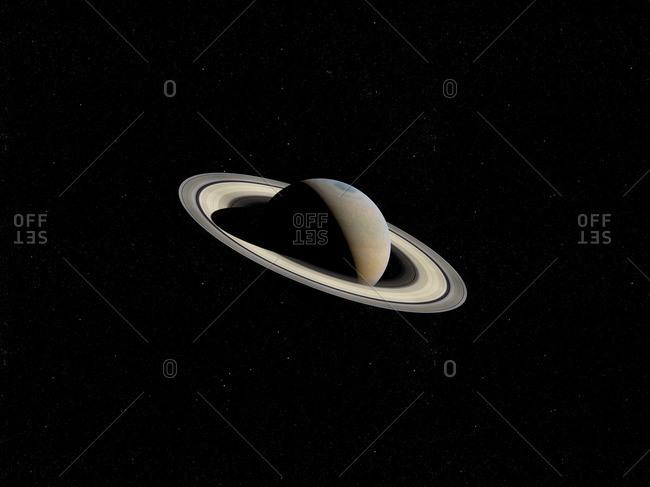 Illustration of Saturn.