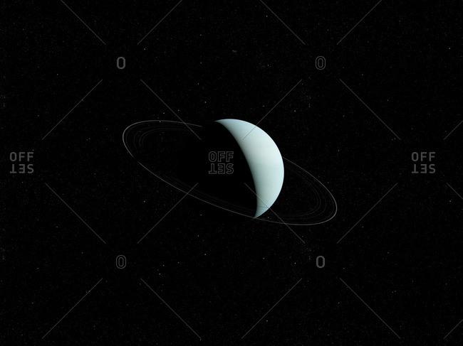 Illustration of Uranus.