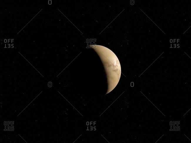 Illustration of Venus.