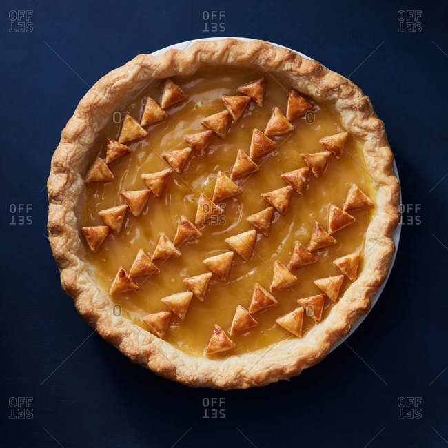 Lemon curd pie - Offset Collection