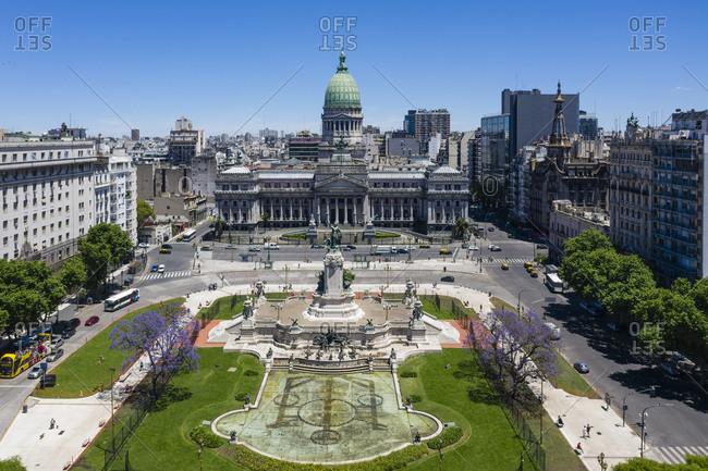Buenos Aires, Argentina - November 18, 2018: Congreso de la Nacion Argentina