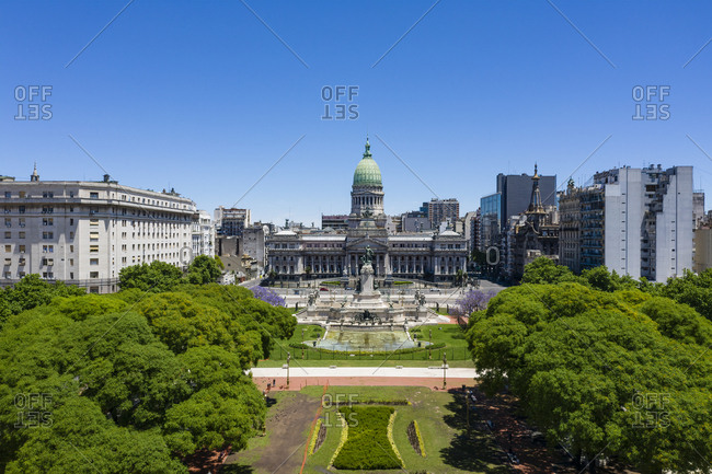 The Congreso de la Nacion Argentina, Buenos Aires, Argentina