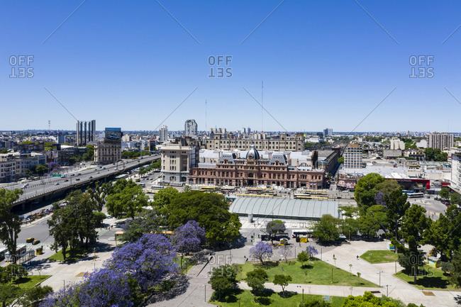 Buenos Aires, Argentina - November 18, 2018: Estacion Plaza Constitucion