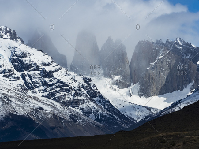 Chile- Patagonia- Magallanes Region- Torres del Paine National Park