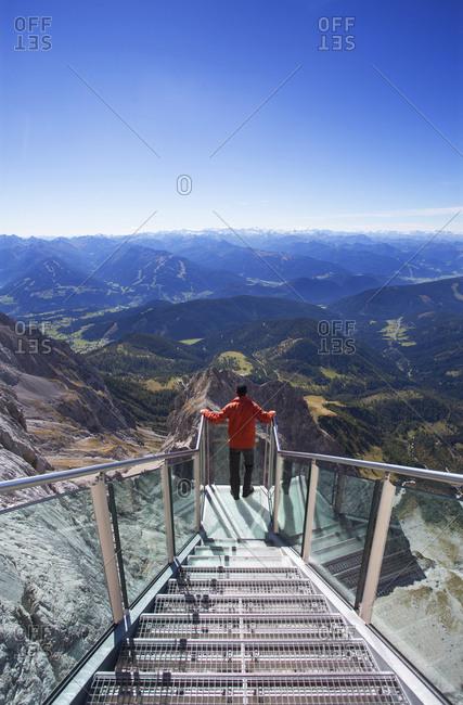 Austria- Styria- Salzkammergut- Dachstein massif- Dachstein Sky Walk
