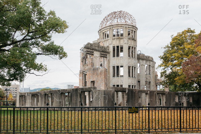Ruins of the Atomic Bomb Dome in Hiroshima, Japan