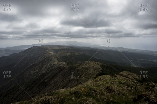 Trekking to Pico da Vara, highest point in Sao Miguel