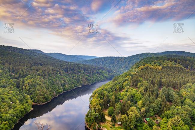 Vltava River, Czech Republic, Europe