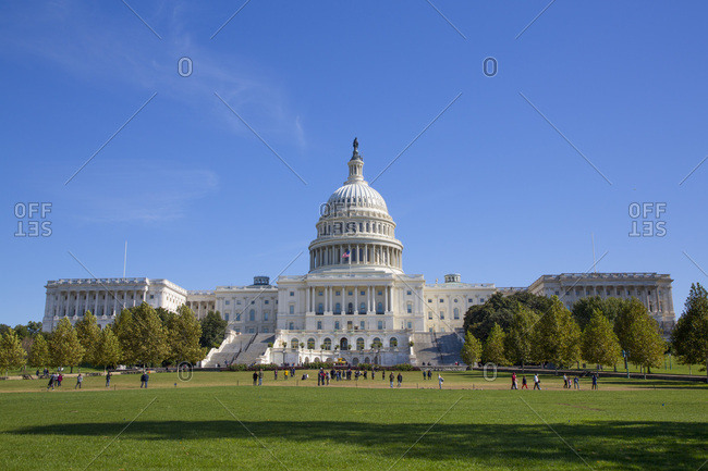 United States Capitol Building, Washington D.C., United States of America, North America