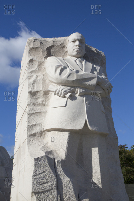 October 21, 2018: Martin Luther King JR Memorial, Washington D.C., United States of America, North America