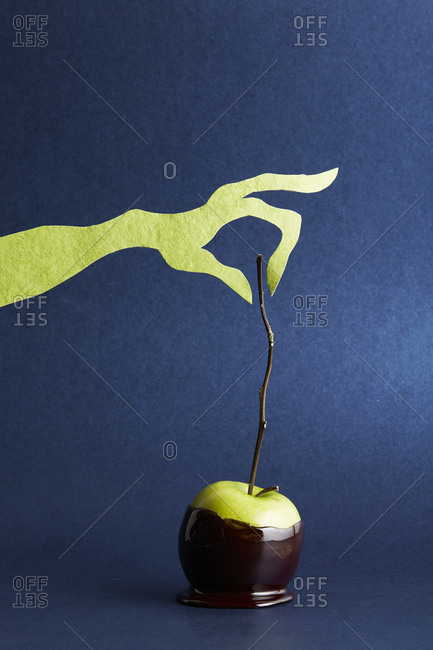 Poison apple snack