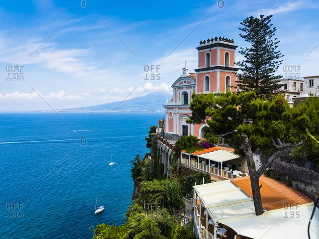 Italy- Campania- Naples- Gulf of Naples- Vico Equense- Church Chiesa della Santissima Annunziata
