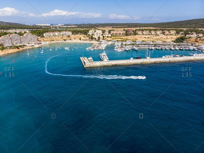 Spain- Balearic Islands- Mallorca- El Toro- Port Adriano