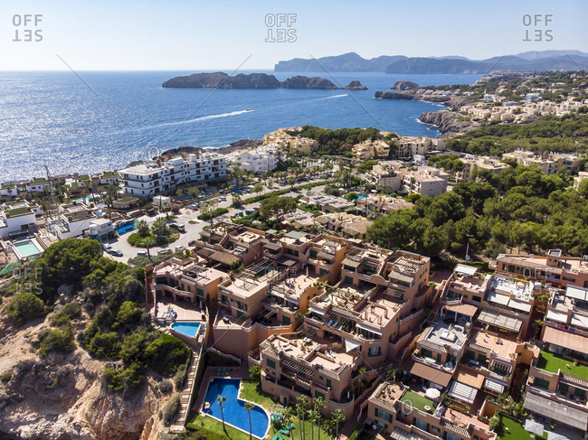 Spain- Balearic Islands- Mallorca- El Toro- upmarket apartments