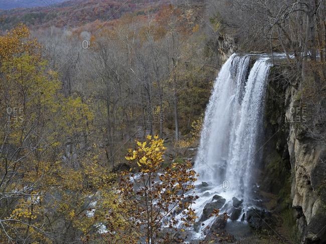 USA- Virginia- Falling Springs Waterfall