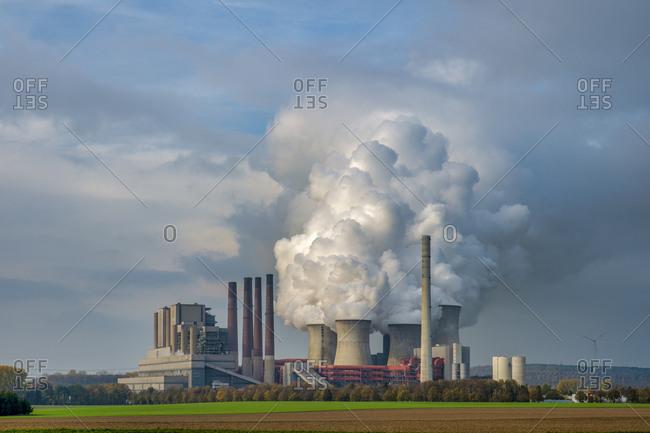 Germany- Grevenbroich- modern brown coal power station