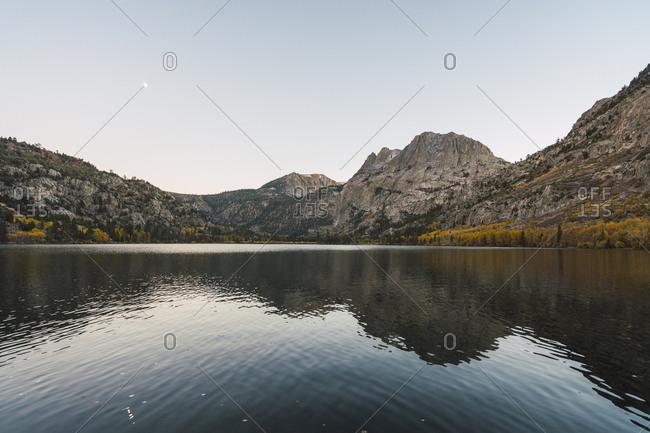 USA- California- Yosemite National Park- Mammoth Lakes- Silver Lake