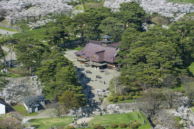 April 30, 2016: Japan- Hokkaido- Hakodate- Fort Goryokaku