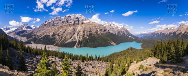 Canada- Alberta- Banff National Park- Peyto Lake