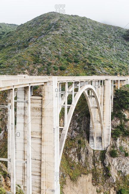 Bixby Creek Bridge by Big Sur, California