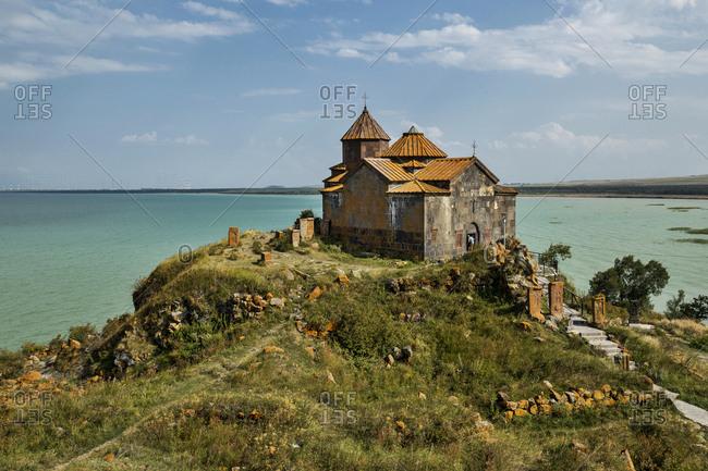 Armenia- Gegharkunik Province- Hayravank- Hayravank Monastery