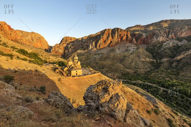 Armenia- Vayots Dzor Province- Amaghu Valley- Noravank- Noravank Monastery