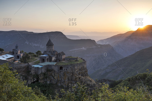Armenia- Syunik Province- Tatev Monastery