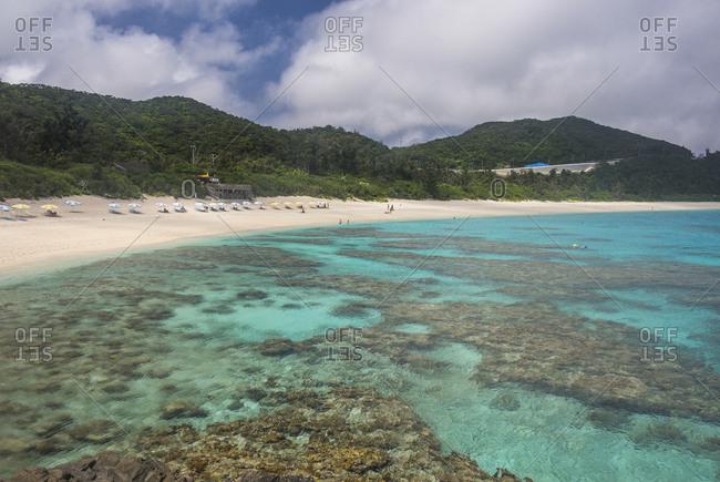Japan- Okinawa Islands- Kerama Islands- Zamami Island- East China Sea- Furuzamami Beach