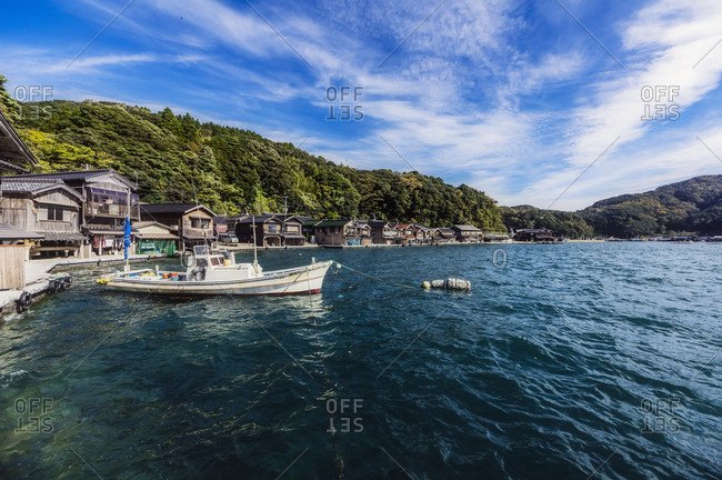 Japan- Kyoto Prefecture- fishing village Ine- townscape