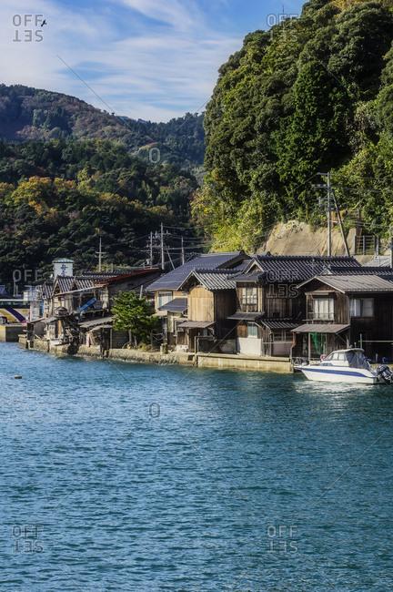 Japan- Kyoto Prefecture- fishing village Ine- townscape