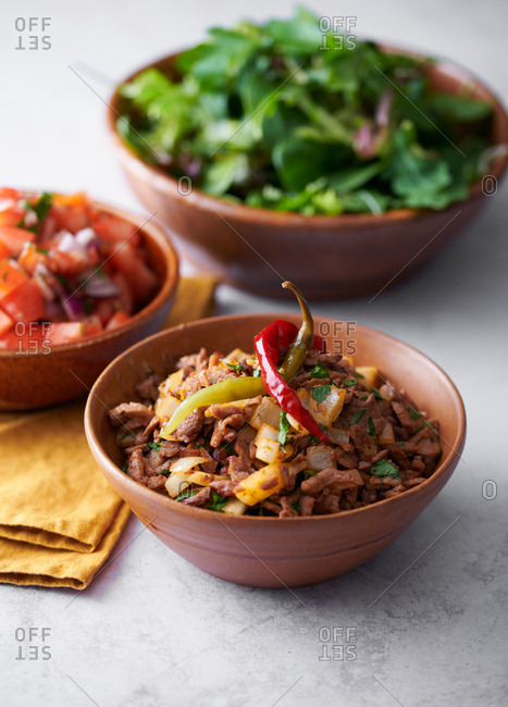 Spicy Mexican beef