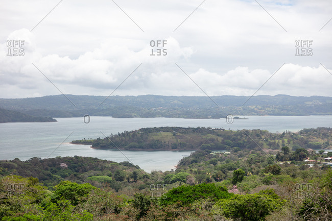 View over Lake Arenal in Costa Rica