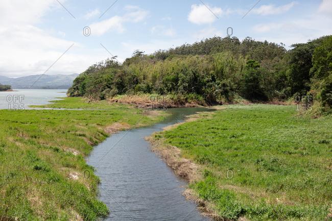 Lake Arenal in Costa Rica