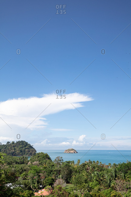 Coastal view along Manuel Antonio, Costa Rica
