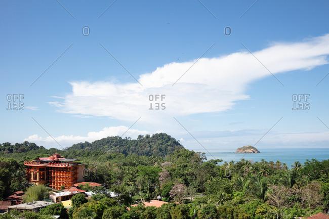 View over Manuel Antonio National Park, Costa Rica